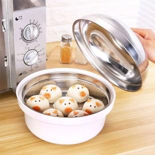 微波炉蒸馒头器具内用蒸馒头包子器皿家用品蒸锅蒸鱼热饭专用蒸笼价格