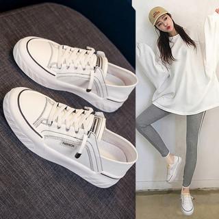 小白鞋女鞋2020年新款百搭白鞋夏季薄款爆款帆布休闲鞋子单鞋板鞋