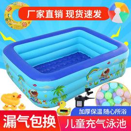 游泳池家用儿童充气婴儿游泳桶宝宝小学生室外戏水池超大海洋球池