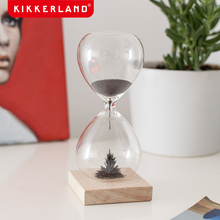 Kikkerland magnetic hourglass timer anti-fall Christmas supplies creative gifts holiday supplies
