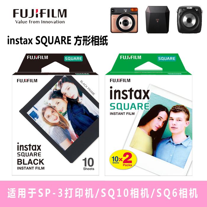 12月01日最新优惠富士 instax SQUARE 方形相纸 拍立得相纸适用SQ10/SQ6/SP