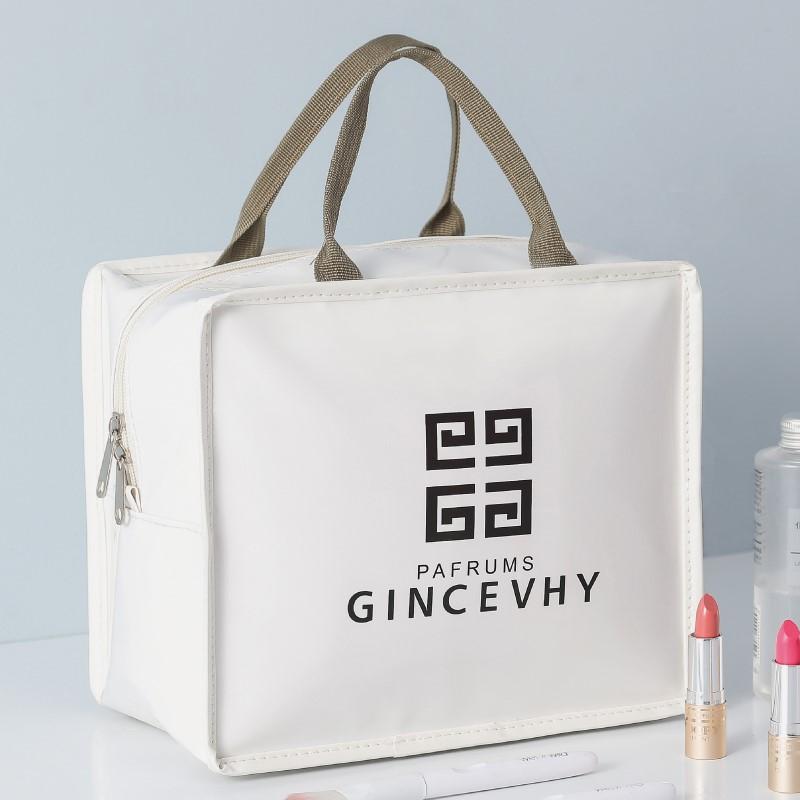 化妆包ins风网红女大容量多功能简约便携化妆品收纳包防水洗漱袋