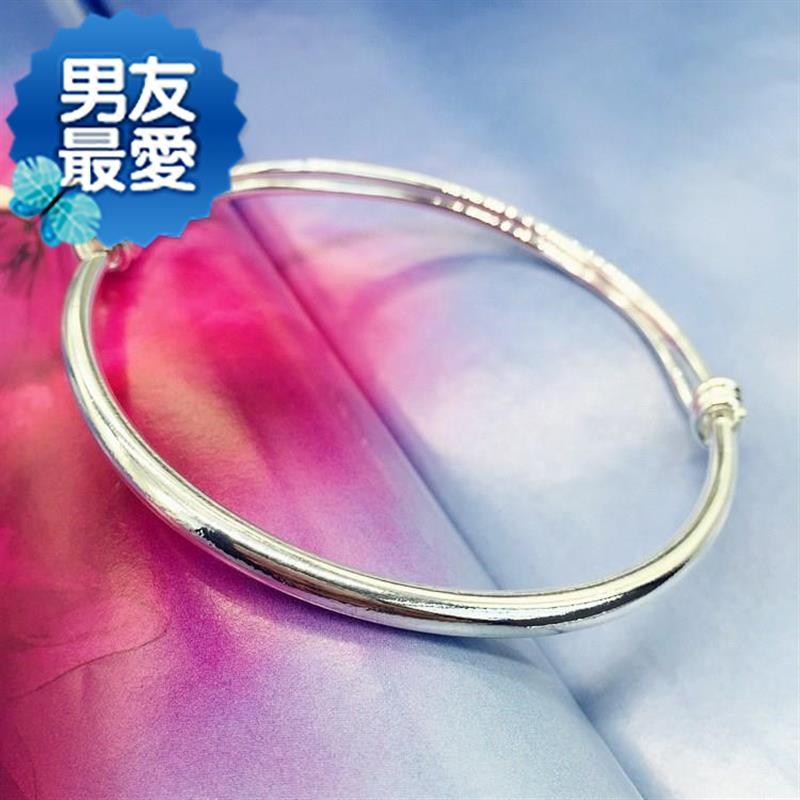 New Korean small bell Bracelet Silver Fashion Chain girls light z-side simple versatile temperament foot ring
