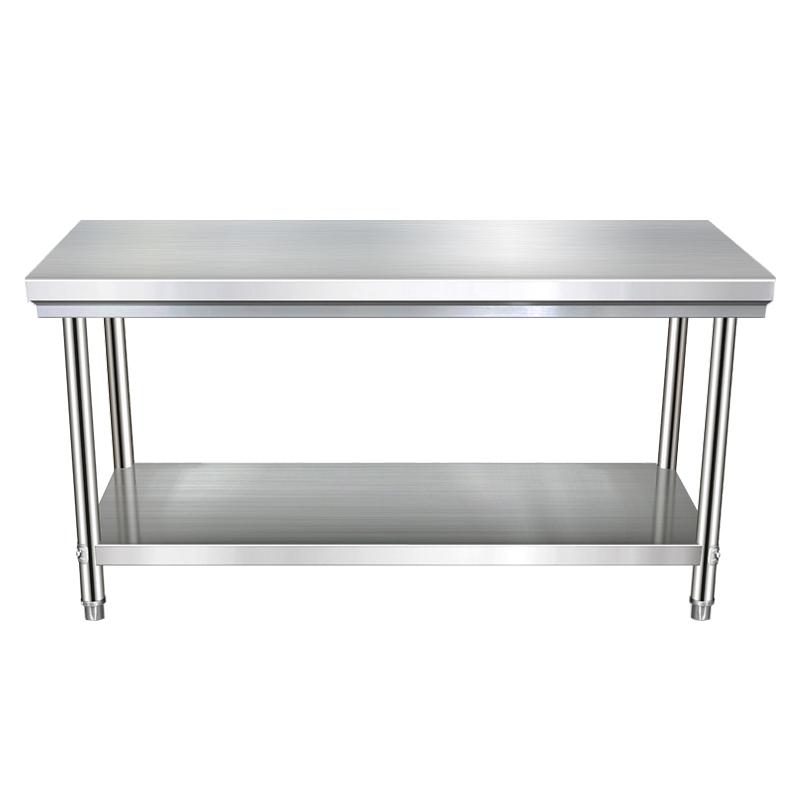 厨房不锈钢工作台切菜桌子烘焙案板