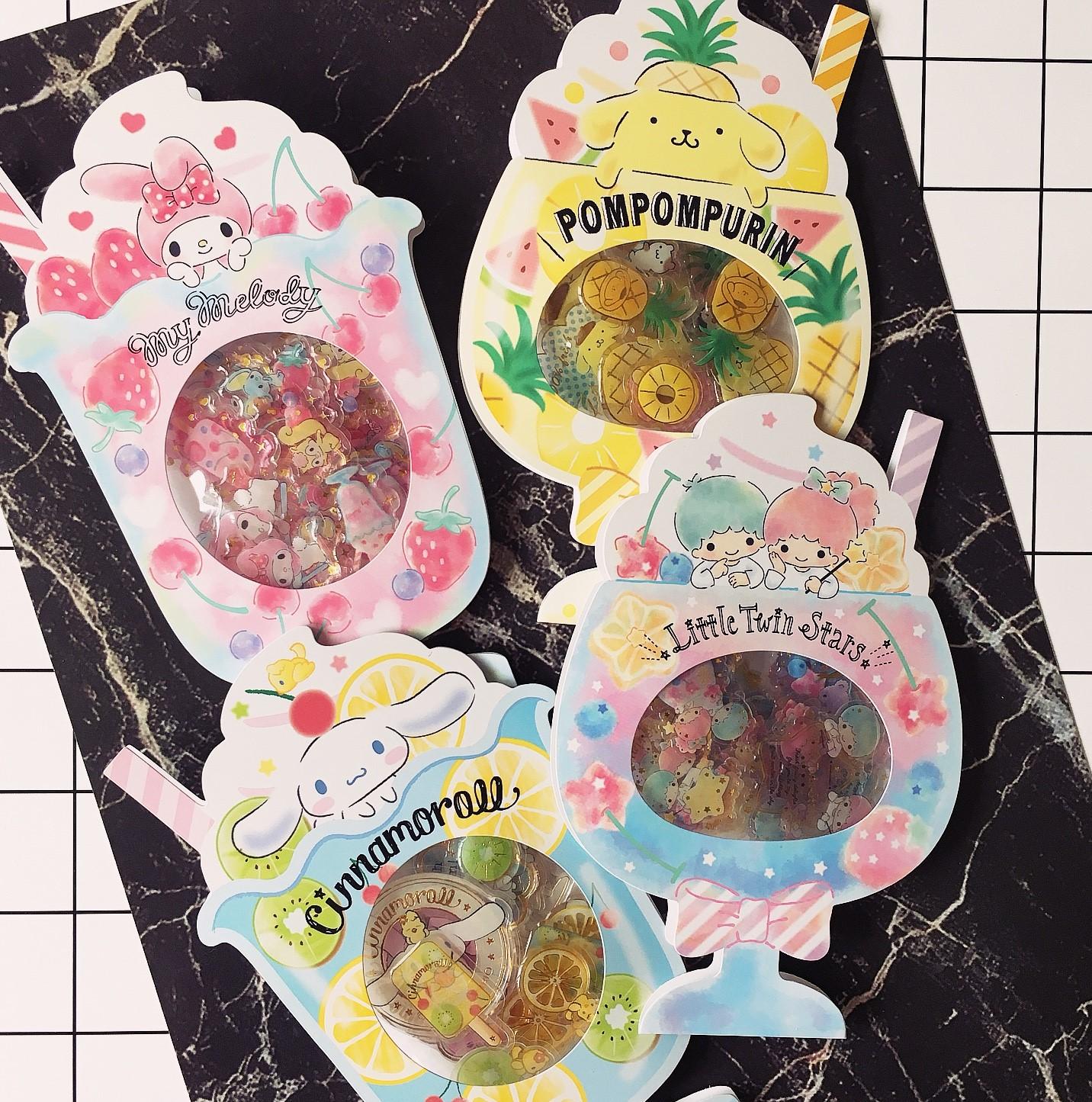 【买2送1】手账贴纸日系卡通贴画烫金麦乐迪大耳狗双子手机贴