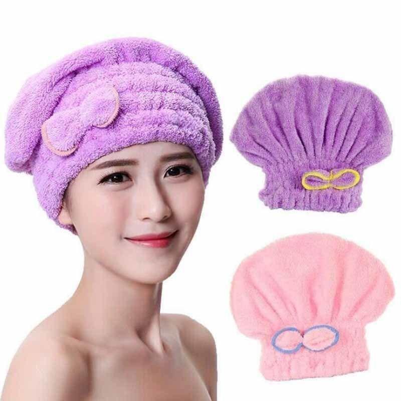 干发帽女超强吸水长发干发巾速干包头巾加厚可爱擦头发毛巾吸水帽