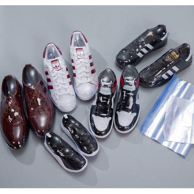 【送干燥剂】鞋热缩膜密封防潮防氧化塑封鞋袋收纳防尘袋家用鞋罩