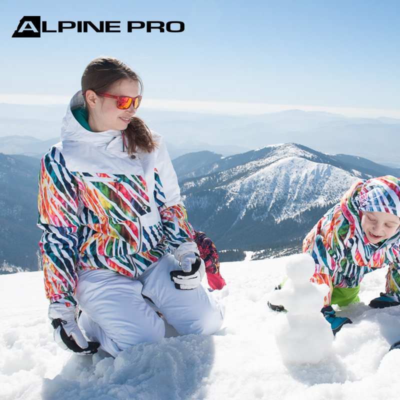 Alpine Pro womens fall and winter outdoor waterproof and warm freestyle parent child ski jacket