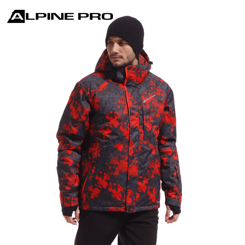 Alpini new mens camouflage windproof waterproof thickened warm adult snowboarding suit