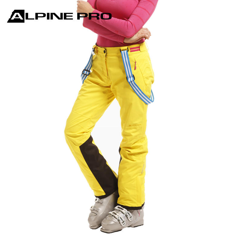 Alpini womens single and double board autumn and winter outdoor ski pants windproof and waterproof parent-child adult ski pants
