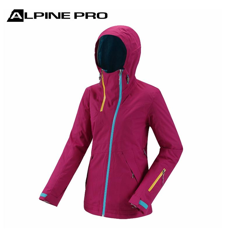 阿尔派妮Alpine Pro女士冬季防风防水保暖加厚单双板滑雪服