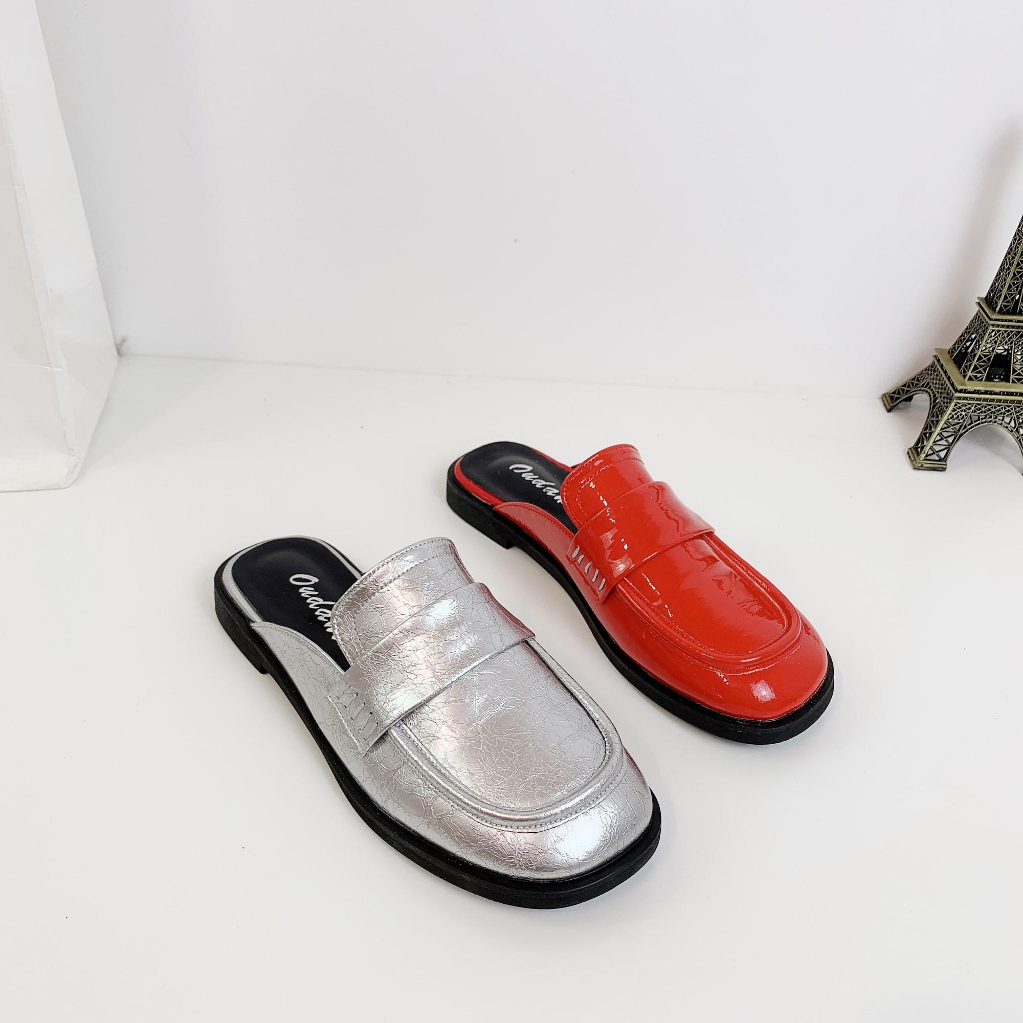 版懒人凉鞋拖网红女鞋季新款平底限3000张券