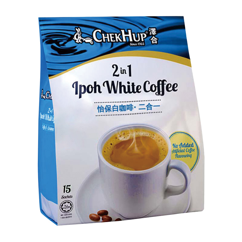 [Malaysia] zehe Ipoh two in one white coffee (30g * 15 packs)