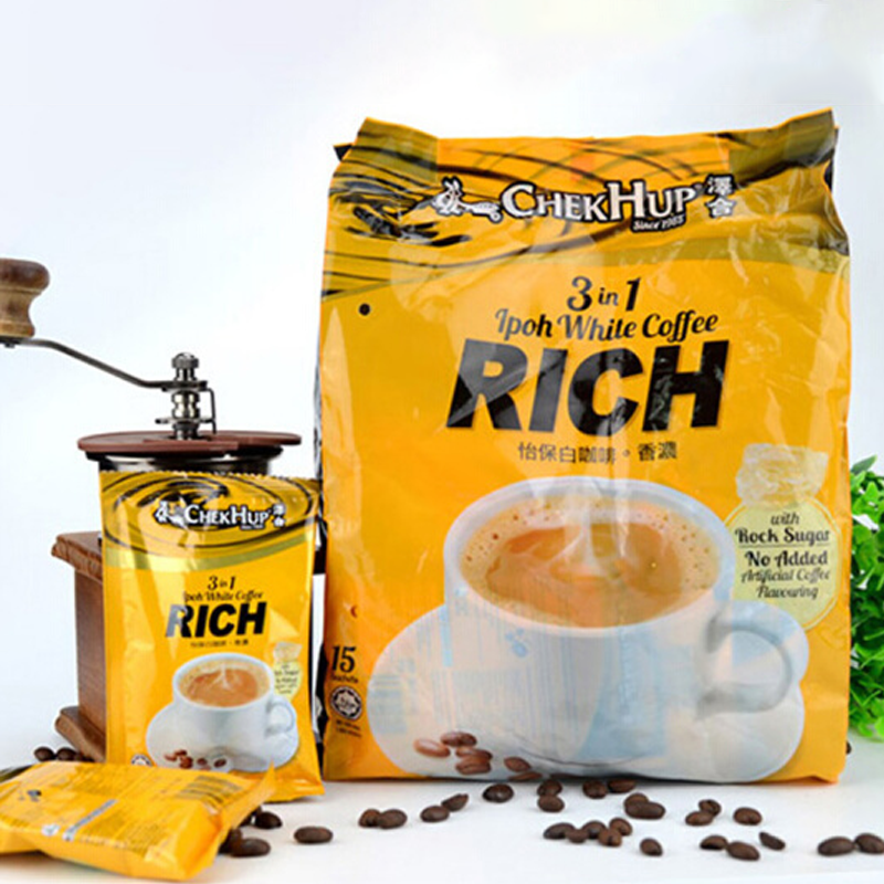 [Malaysia] zehe Ipoh three in one strong white coffee (40g * 15 packs)