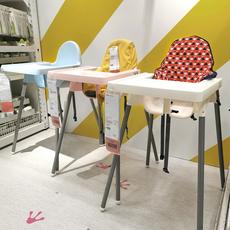 宜家宝宝餐椅便携座椅折叠简易餐厅家用儿童餐桌椅吃饭椅子婴儿小