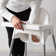 宜家高脚椅99餐椅餐板餐盘宝宝餐桌椅子桌板婴儿板儿童bb吃饭配件