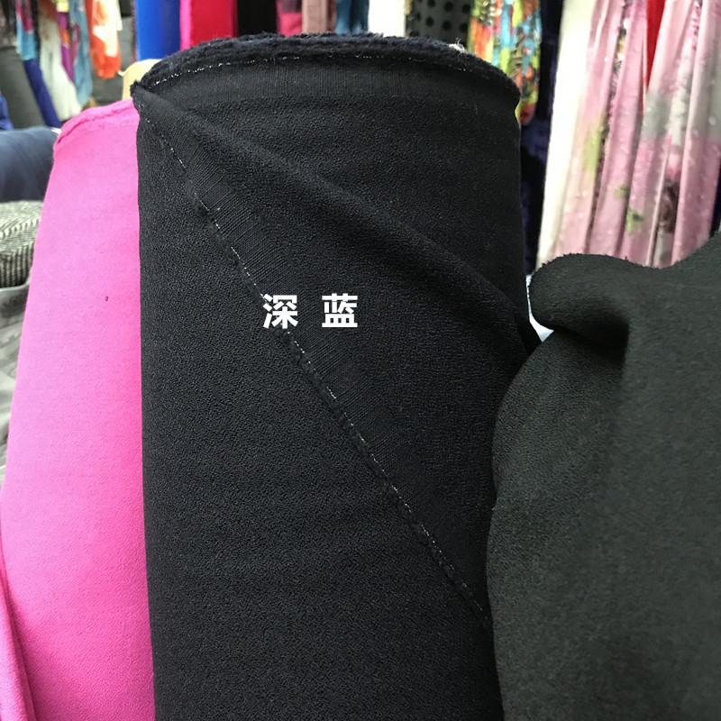 欧美重磅纯色精纺女依呢毛料面料 秋款布料服装西裤连衣裙布匹