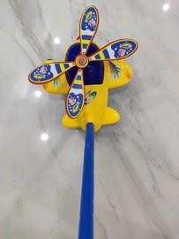 婴儿童宝宝塑料小手拉推推乐单杆飞机手推车学步娃娃助步单杆玩具图片