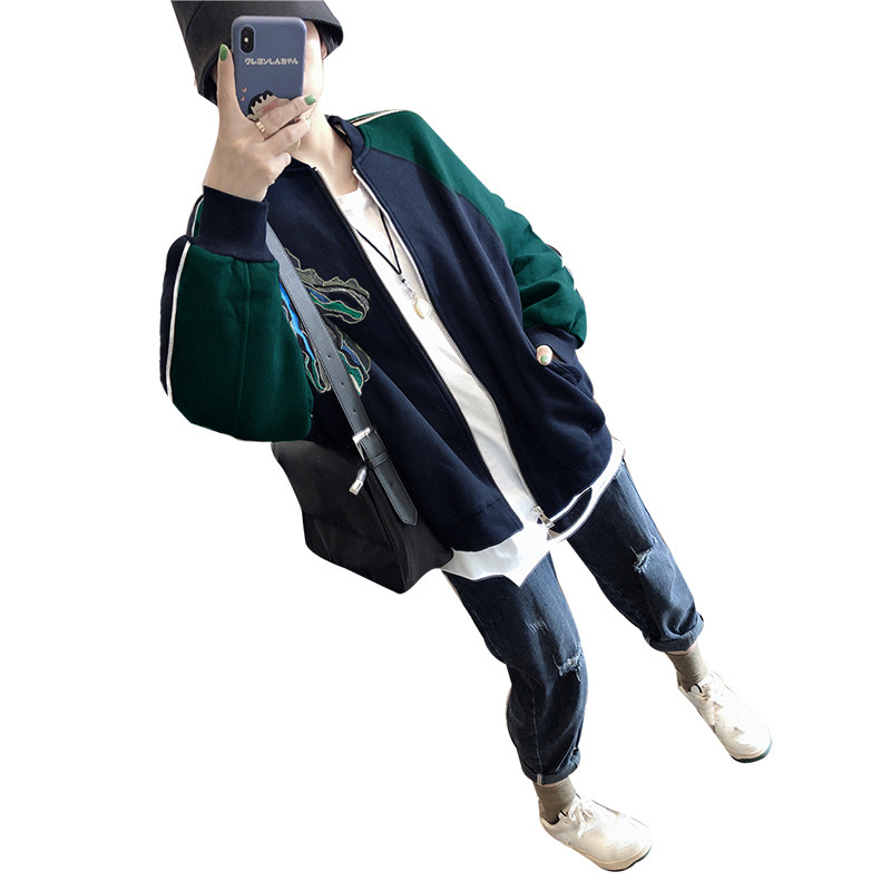 黑色棒球服短款外套春秋2021上衣质量怎么样