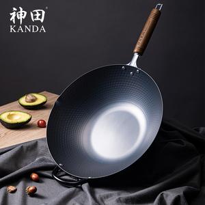 神田窒化日本原装进口老式家用铁锅