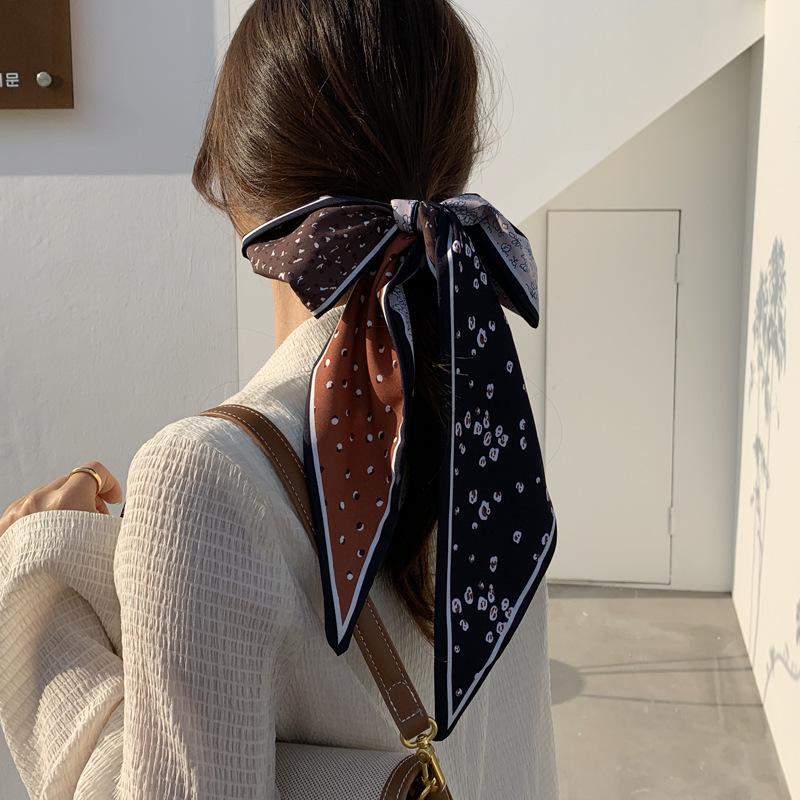 Retro French scarf headband Ribbon Headband for women