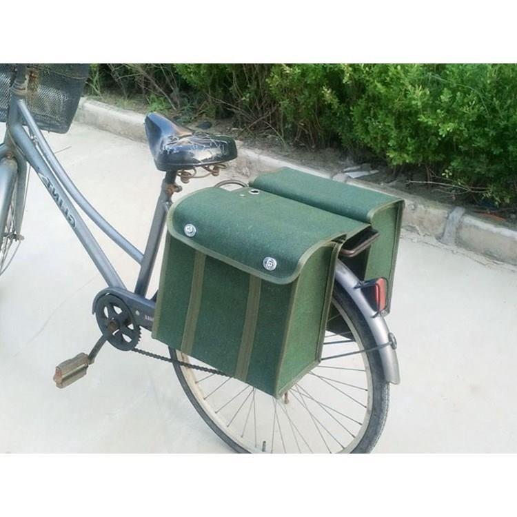 快递员邮局挂包邮政工具包驼鞍袋 摩托车加大帆布邮包邮袋钓鱼包