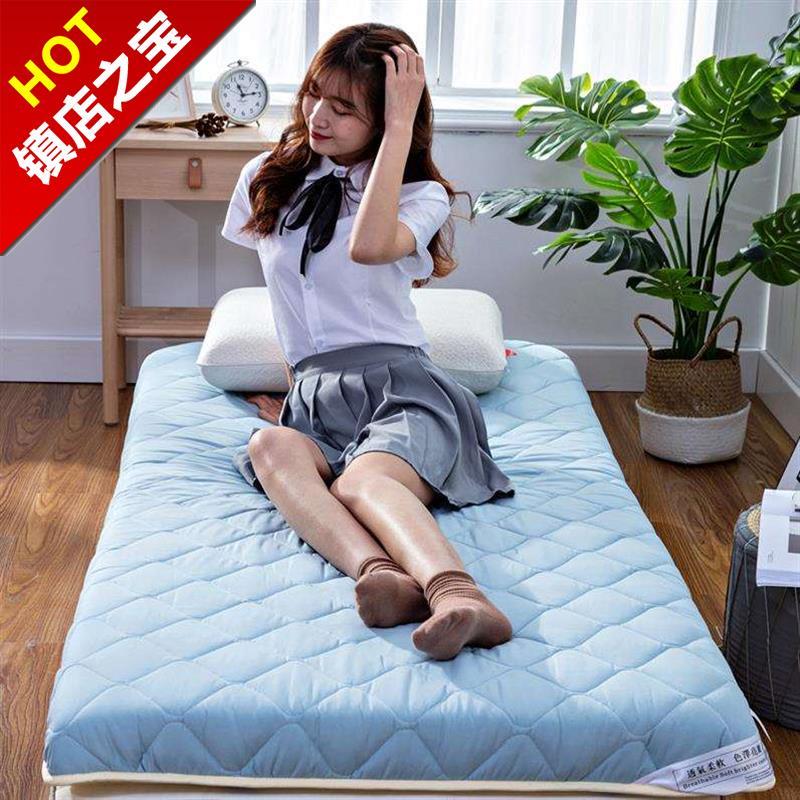 10-25新券软硬两用硬板实木护腰一米床垫软垫租房经济型薄垫子硬垫加厚偏硬