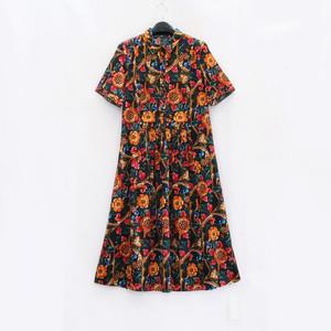 专柜同款夏季绸缎透气舒适连衣裙