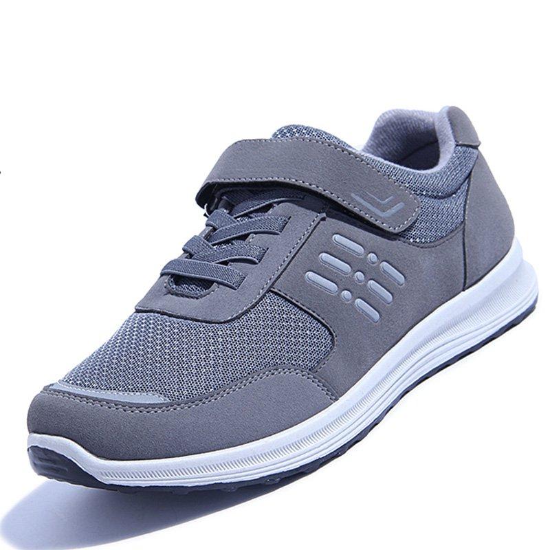 男式中年鞋男爸爸男士休闲鞋夏天穿的男鞋老人运动鞋透气老年鞋子