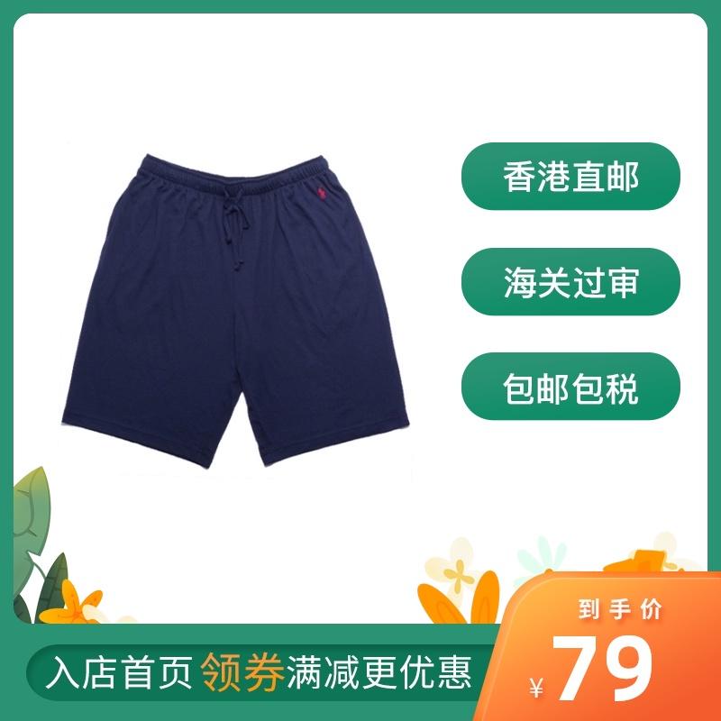 Polo RALPH LAUREN夏季男纯色宽松短裤休闲裤五分裤美版偏大2-3码