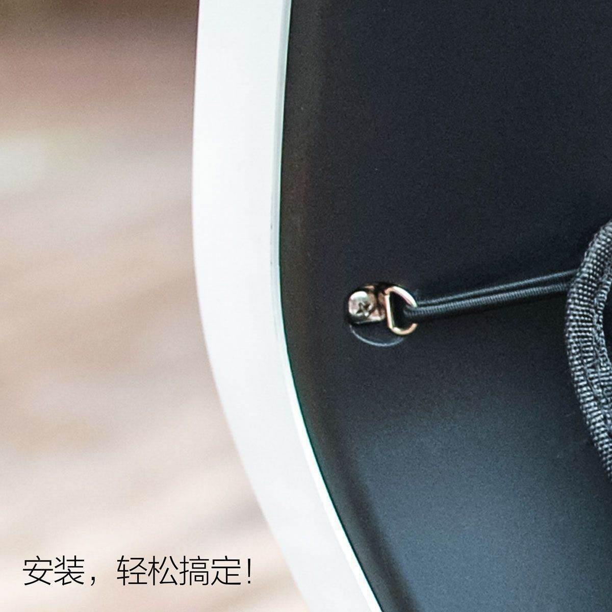 MO小牛M1/M+/U+/U1前置挂包电动车改装配件专用储物网兜置物收纳
