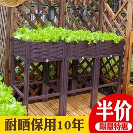 长方形种菜盆阳台特大清仓花盆 种菜神器 蔬菜种植箱户外塑料盆栽