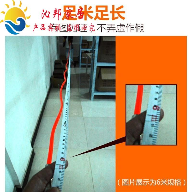 空气压缩机pu空压机气管 软管气泵管 弹簧螺旋伸缩管带接头8*5