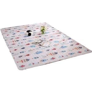 北欧全棉宝宝爬行垫榻榻米地垫满铺地毯防滑客厅卧室床边垫可机洗