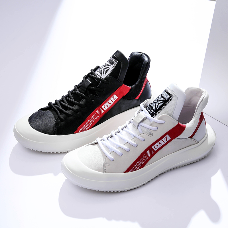 Candybull / Cardi bull autumn new mens high tide shoes leather board shoes lace up casual shoes Guangzhou