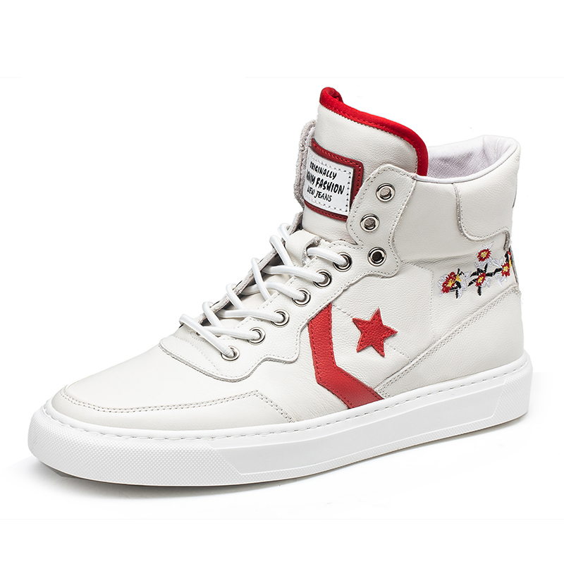 Candybull / Cardi bull high top mens shoes embroidery