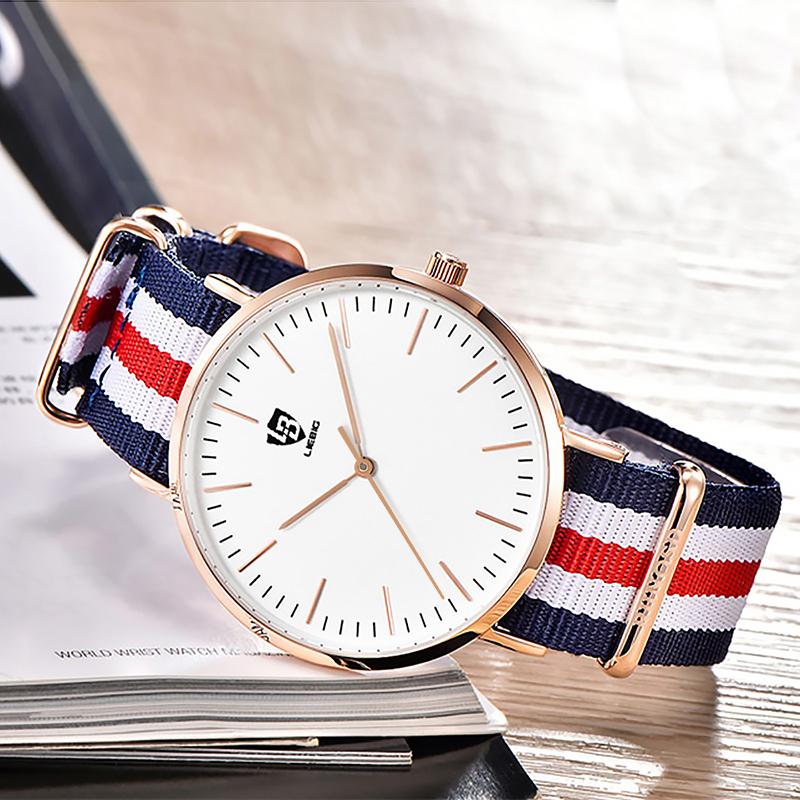 莱宾吉手表男高中学生潮流电子机械石英男士正品防水新款情侣手表