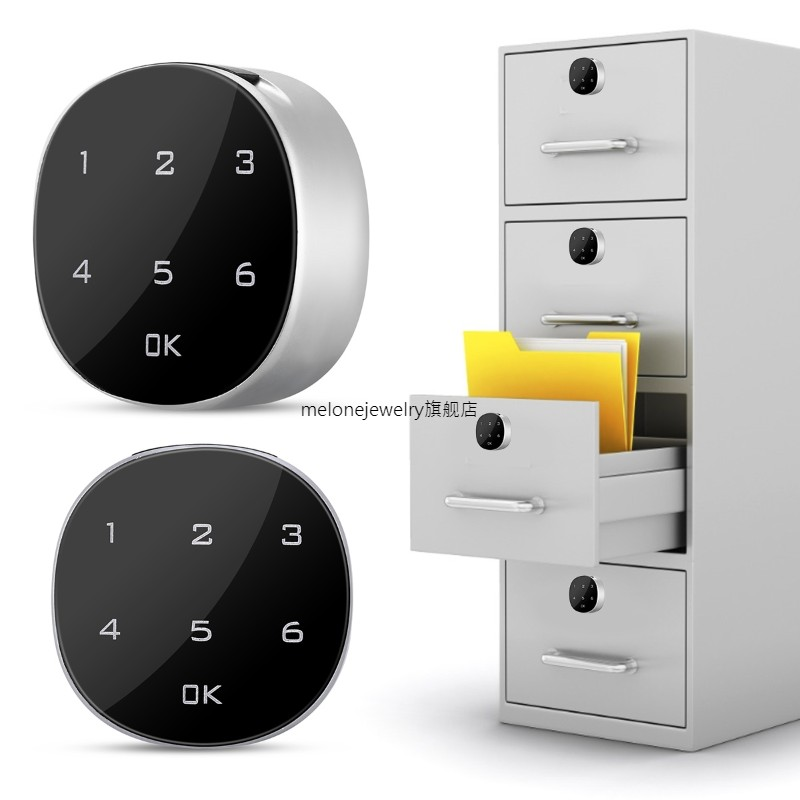 Digital Electronic Password Coded Lock ouch Screen Cabinet