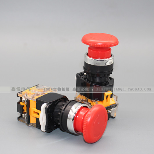 La38-11zs emergency stop switch emergency stop button self-locking selection rotary button switch opening 22mm