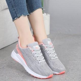 老爹鞋2020夏秋季新款网鞋运动女鞋网面透气轻便跑步鞋休闲鞋灰色