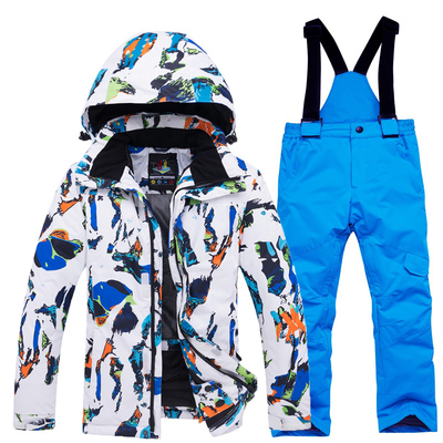 Children's ski clothing suits for boys and girls