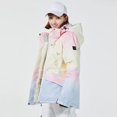 ARCTIC QUEEN ski suit women's snowboard double-board ski suit winter outdoor windproof, waterproof and warmth thickening