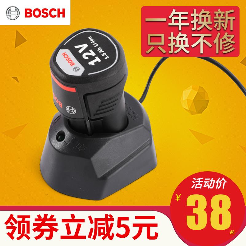 电池10.8v电动工具tsr 1080-2-li/gsr/gdr1 博士手电钻充电器