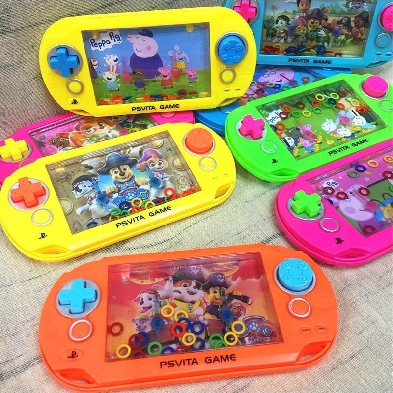 -圈圈幼儿塑料环掌上套环水中益智密封泡泡套圈游戏机手动儿童宝宝