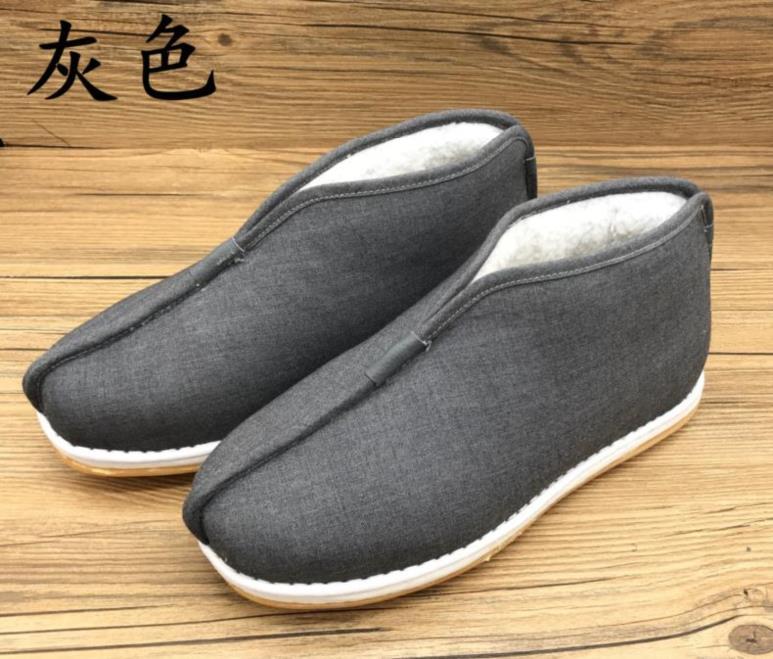 透气出家人冬季僧侣棉鞋和尚棉鞋禅修鞋送父母送师傅加厚保暖加绒