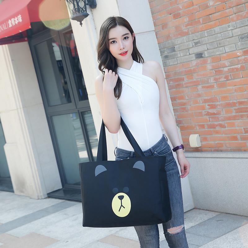Student cute Korean version large capacity light small luggage bag womens hand-held travel bag