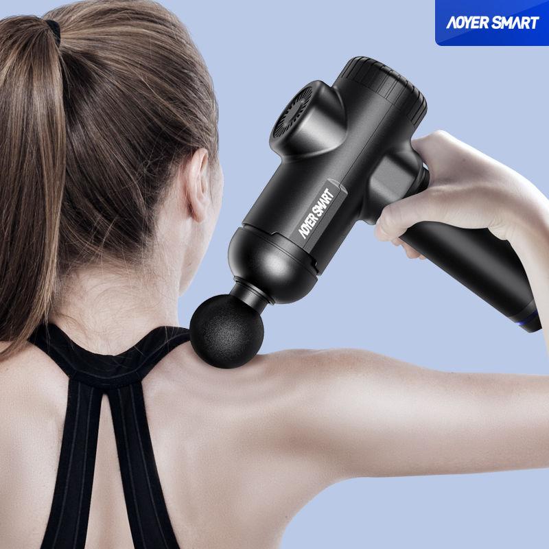 筋膜枪肌肉放松器颈膜按摩器深层震动运动肌膜腿部深层放松按摩仪