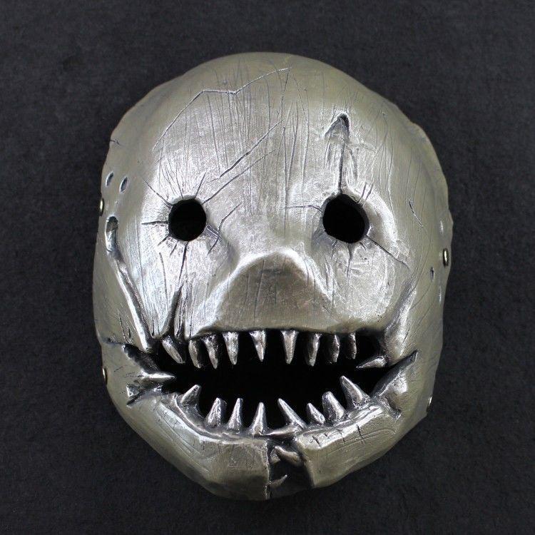 夹子屠夫面具cos黎明杀机游戏 万圣节假面舞会派对角色扮演道具