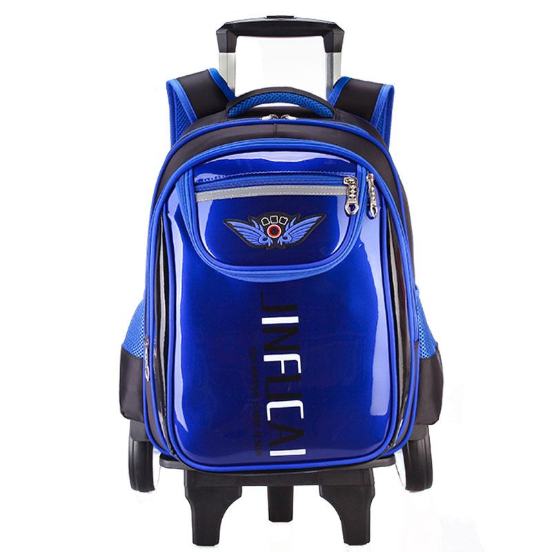 儿童拉杆书包护脊双肩儿童书包
