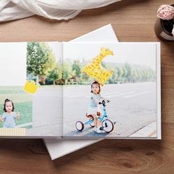 照片书制作宝宝儿童纪念册做相册定制本diy手工情侣生日礼物男女